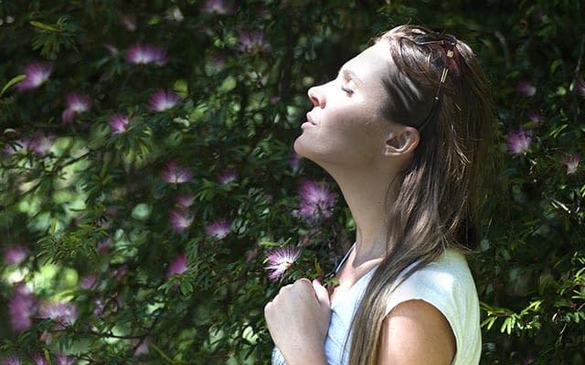 Respiration d'une air de qualité testée et analysée